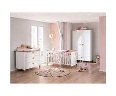PAIDI Babymöbel-Set »Lotte & Fynn«, (4-St., Babybett, Wickelaufsatz und Wickelkommode, 2-türiger Schrank), Steiff by Paidi