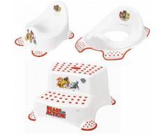 keeeper Töpfchen »Paw Patrol«, (Set, 3-tlg), Kinderpflege-Set - Töpfchen, Toilettensitz und Tritthocker Made in Europe
