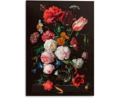 Reinders! Holzbild »Stilleben Blumen in Vase Jan Davidsz de Heem«, (1 Stück)
