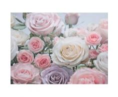 Komar Fototapete »Floraison«, glatt, bedruckt, Wald, geblümt, (Set), ausgezeichnet lichtbeständig