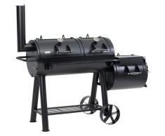 Tepro Smoker »Indianapolis«, BxTxH: 184x88x153 cm, 155 kg