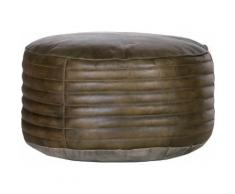 Gutmann Factory Sitzsack »Barcelona«, aus Leder, Hocker, Sitzkissen, Pouf
