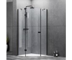 Marwell Runddusche »LOFT«, BxT: 90x90 cm, Sicherheitsglas, mit 1 Schwenktür und 2 feststehenden Glaselementen