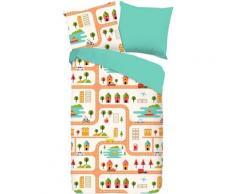 Kinderbettwäsche »Roadmap«, good morning, mit Stadt-Motiv