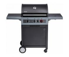 Enders Gasgrill »Boston Black 3 K Turbo«, BxTxH: 134x59x115 cm