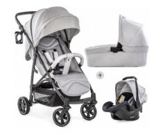 Hauck Kombi-Kinderwagen »Rapid 4S Plus Trio Set Lunar/Stone«, mit Babyschale Kinderwagen