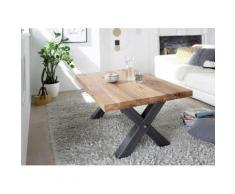 MCA furniture Couchtisch, Couchtisch Massivholz Wildeiche geölt