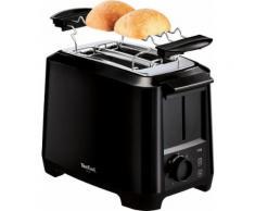 Tefal Toaster TT1408 Uno 2S, 2 kurze Schlitze, für 2 Scheiben, 800 W