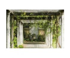 Fototapete »Walkway in Garden«, glatt