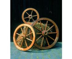 promadino Gartenfigur »Wagenrad«, BxLxH: 50x14x50 cm