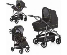 Hauck Kombi-Kinderwagen »Rapid 4S Plus Trio Set Caviar/Neon Yellow«, mit Babyschale Kinderwagen