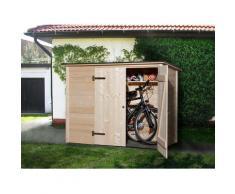 weka Fahrradbox, Mülltonnenbox, BxTxH: 205x84x151 cm