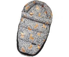 Gesslein Babywanne »Baby Nestchen, grau meliert Reh«, für Kinderwagenwannen, Tragetaschen, Babyschalen und den Sportwagensitz des Kinderwagens