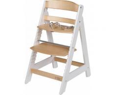 roba® Hochstuhl »Treppenhochstuhl Sit Up III, natur/weiß« aus Holz