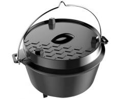 Tepro Grilltopf »Dutch Oven L«, Gusseisen, 12 Liter
