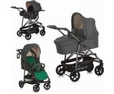 Hauck Kombi-Kinderwagen »Rapid 4S Plus Trio Set Caviar Emerald«, mit Babyschale Kinderwagen