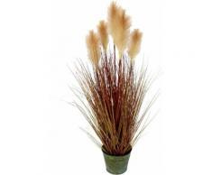 Kunstpflanze »Pampasgras«, I.GE.A., Höhe 90 cm, Im Metalltopf
