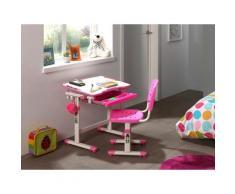 Vipack Kinderschreibtisch »Comfortline« (Set, mit Stuhl), ergenomisch höhenverstellbar