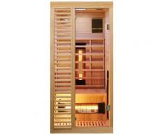 Dewello Infrarotkabine »Hamlin Vollspektrum«, BxTxH: 90 x 90 x 190 cm, 50 mm, für 1 Person