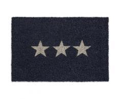 Fußmatte »Kokos Star«, Andiamo, rechteckig, Höhe 15 mm, Schmutzfangmatte, Motiv Sterne, In- und Outdoor geeignet