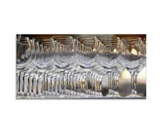 Artland Glasbild »Weingläser«, Geschirr & Besteck (1 Stück)