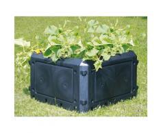 KHW Komposter »Bio Quick Aufbauset«, BxTxH: 75x75x45 cm, 230 l