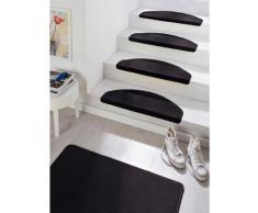 Stufenmatte »Fancy«, HANSE Home, halbrund, Höhe 7 mm, große Farbauswahl, 15 Stück in einem Set