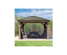 WESTMANN Pavillonseitenteile, mit 4 Seitenteilen, für Holzpavillon »Devon 12x14«