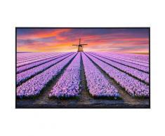Papermoon Infrarotheizung »Blumenfelder mit Windmühle«, sehr angenehme Strahlungswärme