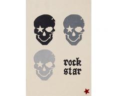 Kinderteppich »RS2383-2«, Rock STAR Baby, rechteckig, Höhe 15 mm, handgearbeiteter Konturenschnitt, Obermaterial: 100% Polyacryl, Kinder- und Jugendzimmer