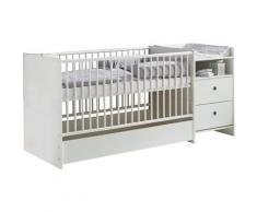 arthur berndt Babybett »Elly«, mit Wickelstation Umbaubar zum Juniorbett, Spieltisch und Konsole Made in Germany