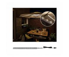Paulmann LED-Lichterkette »Strip Parasol-Light Schirmbeleuchtung 4er-Set 4x40 cm«, 4-flammig