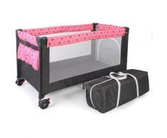 CHIC4BABY Baby-Reisebett »Luxus, Sternchen grau«