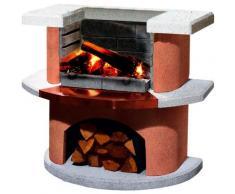 Buschbeck Holzkohlegrill »Grillbar Bologna«, BxTxH: 110x65x93 cm