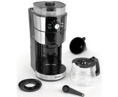 BEEM Kaffeemaschine mit Mahlwerk Fresh-Aroma-Intense, 1,25l Kaffeekanne, Papierfilter 1x4, Glas