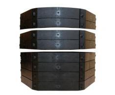 KHW Schnellkomposter, BxTxH: 130x130x100 cm, 1050 l, (Set)