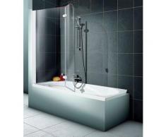Schulte Badewannenaufsatz »2-teilig«, Sicherheitsglas, (2 tlg), BxH: 112 x 140 cm