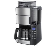 RUSSELL HOBBS Kaffeemaschine mit Mahlwerk Grind & Brew 25610-56, 1,25l Kaffeekanne, Papierfilter 1x4
