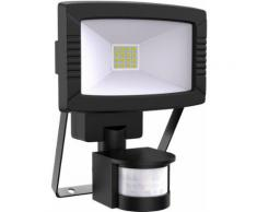 B.K.Licht LED Außen-Wandleuchte, LED Außen-Strahler Flutlicht Wand-Fluter Bewegungsmelder IP44 Scheinwerfer 8,5 W
