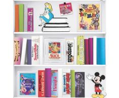 Disney Vliestapete »Bücherregal«, (1 St), Mehrfarbig - 1005x52 cm
