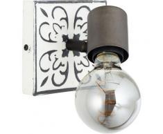 Brilliant Leuchten Wandstrahler »Vagos«, Vintage, Metall, E27, 1 x 28W