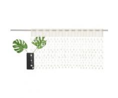Scheibengardine »Tanne«, my home, Stangendurchzug (1 Stück), HxB: 45x115, Weihnachtsgardinen