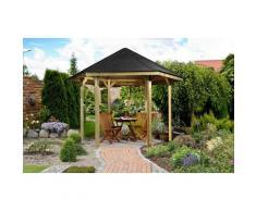 weka Pavillon »Paradies 1«, BxT: 326x376 cm