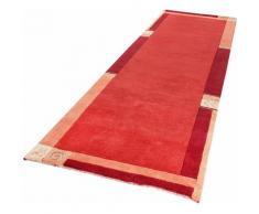 Läufer »India«, LUXOR living, rechteckig, Höhe 20 mm, Teppich-Läufer, reine Wolle, handgeknüpft, mit Bordüre, Flur