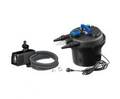 Ubbink Teichfilter »Druckfilter BioPressure II 6000 Plus« (Set), 6.000 l/h, inkl. UV-C Gerät und Teichpumpe