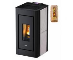 Freepoint Pelletofen »Pretty airtight«, 8,6 kW, Zeitbrand, 346 W, 230 V