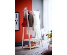 Home affaire Garderobenständer »Ward«, aus schönem weiß lackierten Fichtenholz, Höhe 170 cm