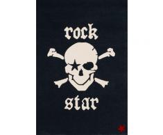 Kinderteppich »RS2385-1«, Rock STAR Baby, rechteckig, Höhe 15 mm, handgearbeiteter Konturenschnitt, Obermaterial: 100% Polyacryl, Kinder- und Jugendzimmer