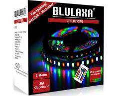 BLULAXA LED Stripe »LED Stipe SET RGB mehrfarbig«, kürzbar alle 2,5 cm