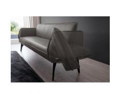K+W Komfort & Wohnen Polsterbank »Drive«, mit Seitenteilverstellung zur Sitzplatzerweiterung, wahlweise in 218 oder 238 cm Breite in Leder oder Flachgewebe
